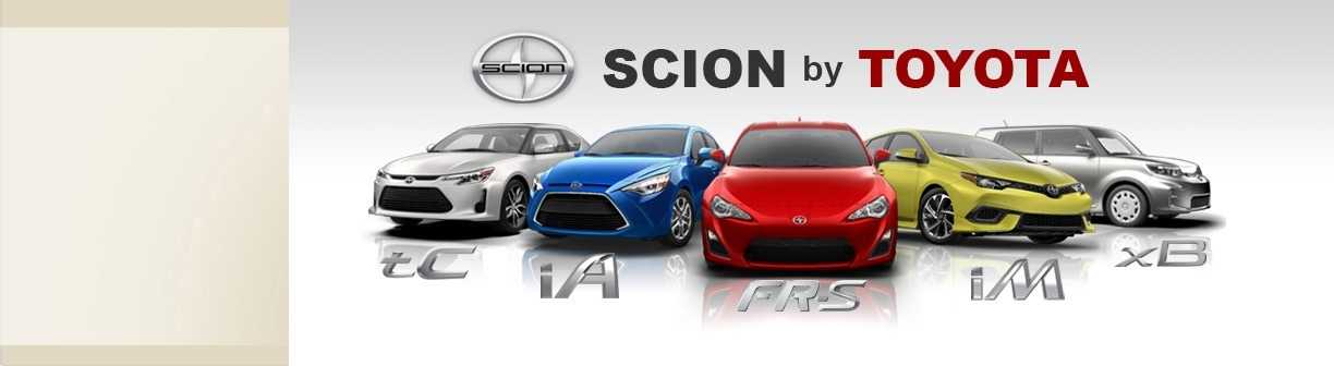 Scion Models By Toyota