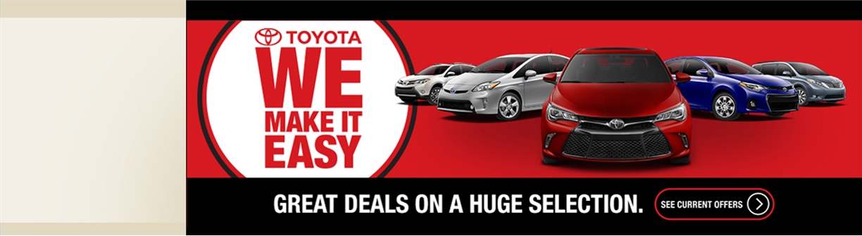 Great Toyota deals